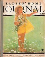 1934 Ladies Home Journal May - Dog sketches; Margaret C Banning; Faith Baldwin