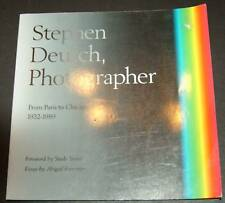 Stephen Deutch, Photographer by Abigail Foerstner (1...
