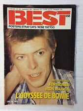 BEST N°158 1981 L'ODYSSEE DE BOWIE