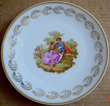 Limoges Collectors Plate Old Fashioned Scene #4