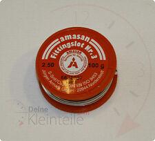 100g - 2,5mm S-Sn97Cu3 Lötzinn Weichlot Fittinglot Kupferrohr Lötdraht Zinn Melt