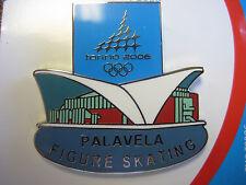 2006 Torino Olympic Palavela Figure Skating Venue Pin