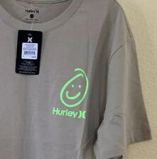 HURLEY  BEL AIR Have Fun Men's Tan T Shirt Size XL Smiley Face