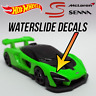 Hot Wheels McLaren Senna Custom WaterSlide Decals for Headlights / Customizing