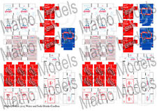 1/35 Scale model kit Water and Soda Drinks Cardboard Boxes