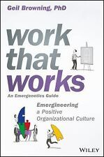 Work That Works: Emergineering a Positive Organizational Culture (Hardback or Ca