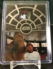 2017 Topps Star Wars 40th Anniversary Film Cel Heroes In The Control Room FCC-29