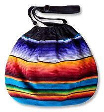 Handmade Bohemian Bag From Mexican Serape Blanket - Hippie Boho Purse Backpack