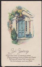 Post Card - Christmas Greetings - early 1900's - B4320