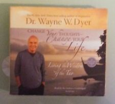 dr wayne w dyer  CHANGE YOUR THOUGHTS CHANGE YOUR LIFE  CD