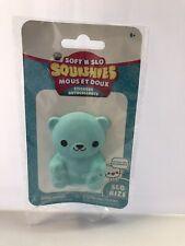 ORB Soft 'n Slo Squishies Stickers Blue Bear (New)