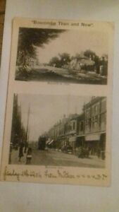 Boscombe Then And Now Postcard 1904