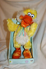 DAN DEE DISCO DUCK EASTER ANIMATRONIC LIGHT UP SINGING DANCING