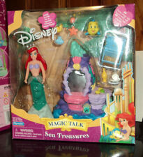 2002 Playmates Disney Princess Ariel Little Mermaid Magic Talk Sea Treasure Set