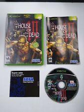 House of the Dead III Microsoft Xbox Complete 2002 SEGA Video Game