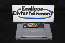 Mickey Mania Timeless Adventures of Mouse SNES Super Nintendo Tested! Cart Only