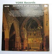 HYMNS FOR BRASS - The London Evangelist Brass Ensemble - Ex LP Record Chevron
