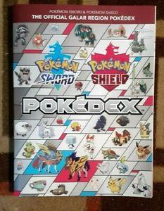 Pokemon Sword & Pokemon Shield The Official Galar Region Pokedex Guide + Poster