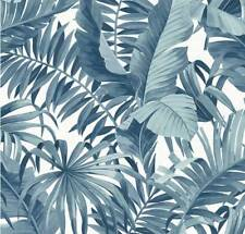 Alfresco Palm Leaf Wallpaper Blue