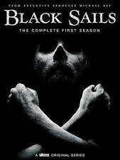 Black Sails: The Complete First Season (DVD, 2015) NEW