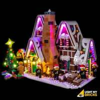 LIGHT MY BRICKS - LED Light kit for Lego Gingerbread House set 10267