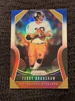 2019 PANINI PRIZM RED WHITE  & BLUE PRIZM #286 TERRY BRADSHAW STEELERS