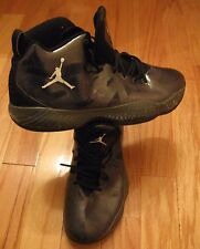 NIKE AIR JORDAN JUMPMAN 2012 LITE 524922 001 GRAY-BLACK BASKETBALL SHOES SIZE 14