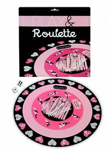 SEX PLAY & ROULETTE Adult BOARD GAME FUN Romantic GIFT Couples Gay or Straight