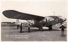More details for lyon airport port aerien de bron potez rp old pc used 1935