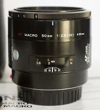 Objectif Minolta AF 50mm MACRO f/2.8  - SONY alpha - SLT- full frame
