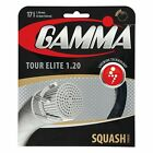 Gamma Tour Elite 17 1.20 mm Squash String - Reg 15 - Great Feel and Power