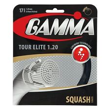 Gamma Tour Elite 17 (1.20 mm) Squash String - Reg $15 - Great Feel and Power