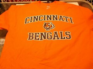 Cincinnati Bengals  NFL Team Apparel shirt by Majestic  S