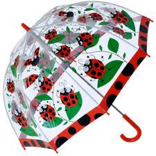 Bugzz PVC Dome Umbrella for Children (New Design) - Spotty Ladybirds
