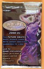 2000-01 Fleer Hot Prospects BK HOBBY Pack Vince Carter Jersey? Kobe/Shaq Insert?