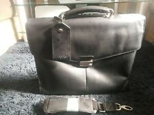 IBM Thinkpad briefcase/laptop Leather Bag in ex con