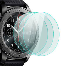 3x Display Schutz Glas Samsung Gear S3 Frontier Classic Schutzpanzer Glasfolie