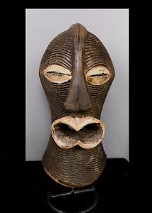 Old Tribal Female Songye Kifwebe   Mask    --- Congo