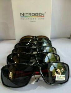 nitrogen polarised sleek fishing sunglasses total uv protection multi colour