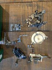 Vintage 160809 Singer Sewing Machine Attachments Set, Original Box!