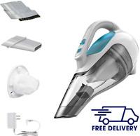 BLACK+DECKER dusbuster Handheld Vacuum, Cordless, Flexi Blue, Lithium technology