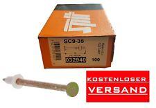 Spit SC9-35 Nägel 032940 100St. P60-P200  NEU OVP Nägel Bolzen