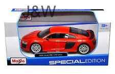 Maisto Audi R8 V10 Plus Red 1/24