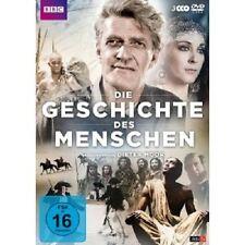 DIETER MOOR - DIE GESCHICHTE DES MENSCHEN  3 DVD  DOKUMENTATION  NEU