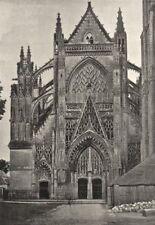 LOIR- ET- CHER. Vendôme. Eglise de Trinité 1895 old antique print picture