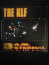 """The KLF Featuring The Children Of The Revolution – 3 A.M. Eternal 12"""" maxi"""