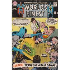 World's Finest #194 Superman/Batman Inside The Mafia Gang 1970 DC Comics