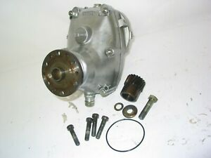 NICE ROTAX A GEARBOX 2.58 !!! COMPLETE WITH SMALL GEAR AND ADAPTER PLATE 582 503