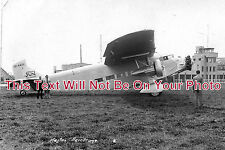 MI 96 - Heston Aerodrome & Ford Tri Motor Plane, Middlesex - 6x4 Photo