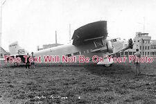 MI 96 - Heston Aerodrome & Ford Tri Motor Plane, Middlesex - 6x4 Photo